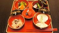 【お食い初めプラン】赤ちゃんにお食い初め専用のお祝い膳(百日膳)でお料理5品をご用意