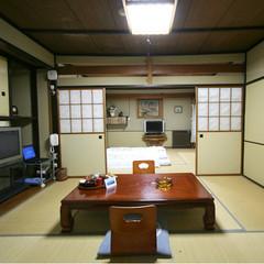 専用露天風呂付客室2間つづき14畳(WiiとPS3完備)