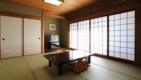 【禁煙】奥津温泉一望できる和室8〜10畳(バス洗面トイレ付)
