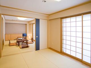 和室(6畳+6畳+ライティングエリア)/Wi-Fi対応