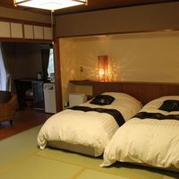 はなれ琳◆自家源泉の内風呂付!ツインベッド付和室6畳