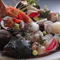おすすめプラン♪『瀬戸内産の旬の地魚お造り盛り』×『アワビの踊り焼き』付会席プラン