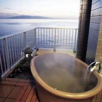 露天風呂付客室(和室10畳)<絶景海側・お食事処>