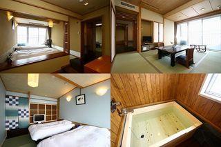 オーシャンフロント・和室10畳+ツインベッドルーム【高層階】
