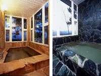 【スタンダードルーム(2名専用)】シックで落ち着いた雰囲気の角部屋♪絶品仏料理ディナー&貸切展望風呂