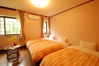 洋室2〜3ベットルーム♪家族で楽しむディナー&24H貸切風呂