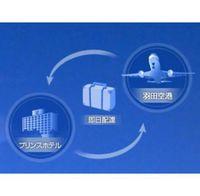 羽田空港までの手荷物運送サービスチケット付き宿泊プラン〜プリンスデリバリーサービス〜