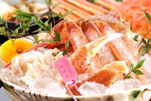 ごまかしの出来ない熱々を★釜揚げ柴山カニ(食べききサイズ1匹で)★フルコース ・現金特価・・