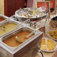 【大浴場利用可】朝食付プラン!朝食はインド料理バイキング!本場の味をご賞味ください!