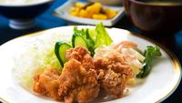 【楽天スーパーSALE】5%OFF!≪2食付プラン≫当館人気!日替わり定食+ご飯と味噌汁おかわり自由
