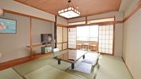 和室10畳【オーシャンビュー/朝食用】