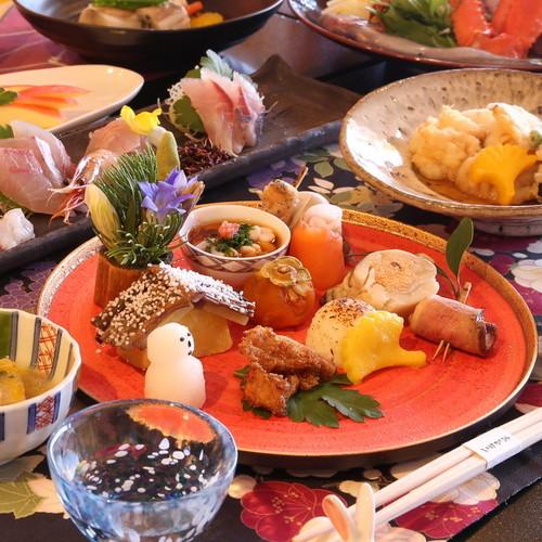 【いけがみ流日本料理◆基本コース】富山湾の贅が散りばめられた〜四季を伝える和創作料理〜