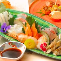 【海の幸会席◆竹コース】≪人気No.1≫富山の朝穫れキトキト鮮魚たっぷり♪旬のお刺身たくさん盛り会席