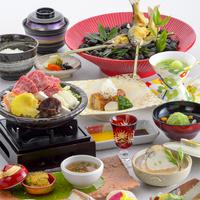 【夏】6月〜9月の旅行なら★彩り溢れる和食会席★夏の基本会席料理