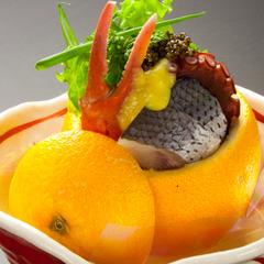 【 秋 田 旬 菜 を 味 わ う 美食 と ワ イ ン 】    四季彩美食プラン Premium