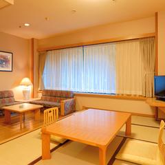【1名利用】新館和室又は和洋室 43平米(禁煙/8階以上)