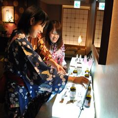 【ワイワイ女子会】ディナーバイキング☆熱々鉄板焼きと天ぷら 4人以上でお値打ちプライス♪