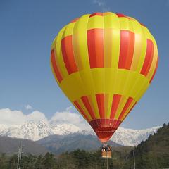 【オプション】地上30mの浮遊体験♪わんわん熱気球体験ご宿泊プラン【素泊まり】