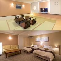 ◆エグゼクティブルーム(12畳半+ツインベッドルーム兼洋間)