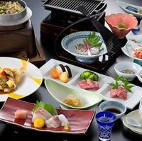 【四季会席】佐賀産和牛・季節一品・季節の彩りを取り入れた会席料理プラン!