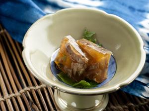 牛肉を使った奥津荘でしか味わえない郷土料理プラン
