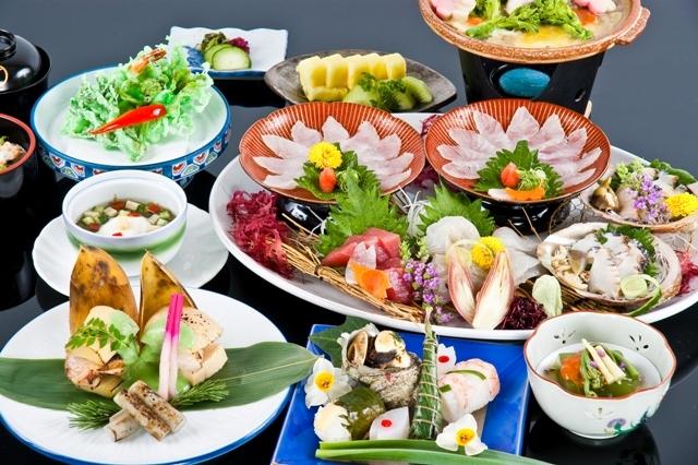 地元食材を使った四季会席料理(月替わり)♪【伊勢志摩プラン】(伊勢海老・鮑は別注文となります)