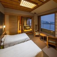 【和邸】白良浜ビュー和室ツイン+温泉<リニューアル>