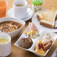 日替わりのカンタン朝食がある素泊まりプラン