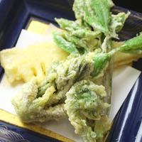 ≪春限定★おすすめプラン≫山菜・春ワカメ・鯛しゃぶ・ホタルイカ☆春の味覚食べつくし♪