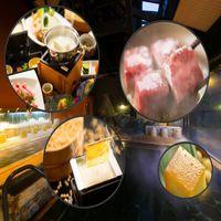 【トリプル鍋合戦】(豚豆乳しゃぶしゃぶ+牛陶板焼+出来立て湯葉)を楽しむ豆富懐石プラン