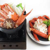 【11月・12月和食会席】蟹尽くし膳☆蟹鍋の後の〆は雑炊で…♪源泉の良さは浸かって実感!
