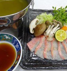 【新春フェア】ポイント10倍【金目鯛を静岡県産茶でしゃぶしゃぶ&ぷりぷりの煮付け】 和食会席プラン♪
