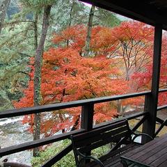【秋季限定】渓谷眺望の眺めの良い宿で旬の食材を楽しむ!秋の味覚・松茸会席プラン