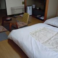 ペットと泊まれる部屋■ゆらら2ベットフローリングタイプ
