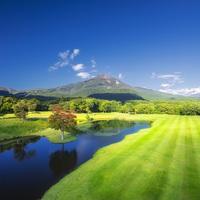 【ゴルフ2プレー】1泊2食付 〜磐梯山を望むロケーションでゴルフ〜