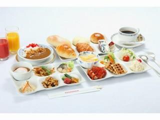 【ポイント10倍】☆食べよう朝ご飯!朝食バイキング付バリュープラン☆
