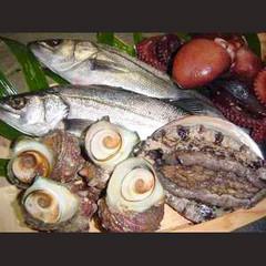 【人気急上昇☆】新鮮魚介の磯せいろ蒸し+贅沢舟盛り[1泊2食付]