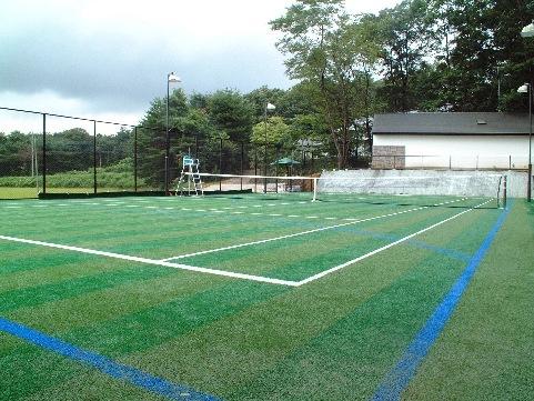 テニス合宿歓迎!テニスコート3時間付きコテージ宿泊プラン【朝・夕2食付】