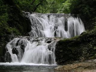 荒雄川入漁券付 渓流釣り 天然温泉貸切プラン