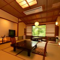 【通常客室】和室10畳+4〜6畳(掘りごたつの間)