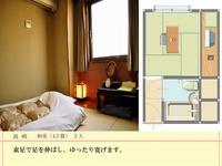 和室 4.5畳間 大人2名様 ▼ 畳に布団が一番! 【カード払いOK】
