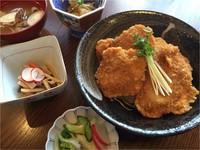 新潟ご当地グルメ『タレかつ丼』定食付きプラン