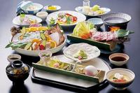 【春夏旅セール】【2021年春:極】「虎魚(おこぜ)」の姿造里メイン!白く透き通りシコッとした食感☆
