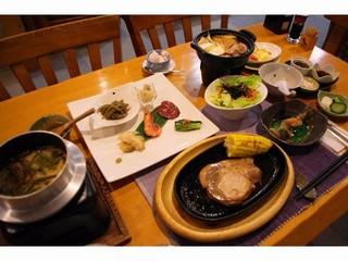 *【楽天限定】スタンダード夕食グレードUPプラン!十勝ポークをステーキで♪