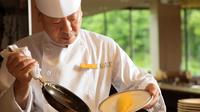 """【朝食つき】自慢の朝食を召し上がれ♪毎朝オーブンで焼き上げる""""さっくりクロワッサン""""<源泉かけ流し>"""