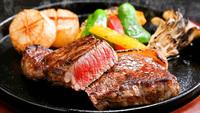 【本館】 蒜山ジャージー牛 肉厚220gサーロインステーキ 付プラン