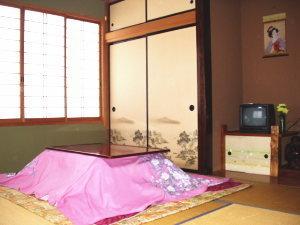 緑豊かな和室7.5畳