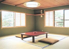 緑豊かな和室10畳