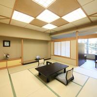 【禁煙】■準特別室【和室12.5畳+ツイン】