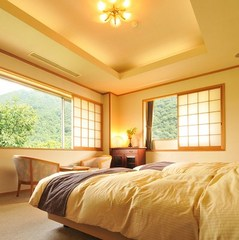 【禁煙】展望風呂+ベッドルーム付特別室【皇海】(すかい)